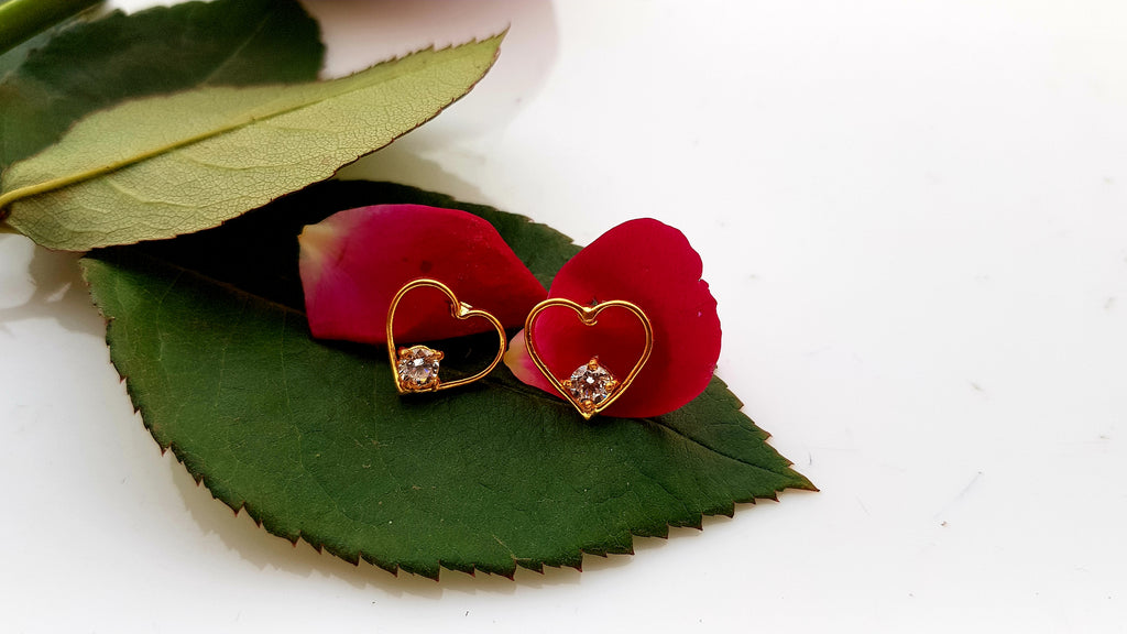 Sweetheart Earrings - Mokshali