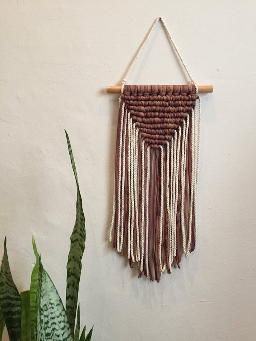 Wall hanging- Marble Dirty Pink