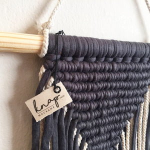 Midnight blue wall hanging