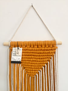 Marmalade V-shape wall hanging