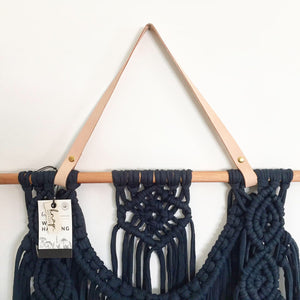 Midnight blue Tarn Wall Hanging