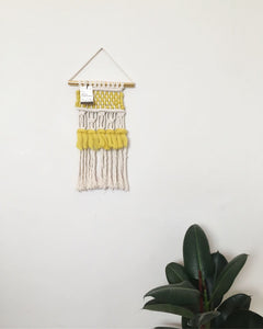 Macra-weave Wall hanging small