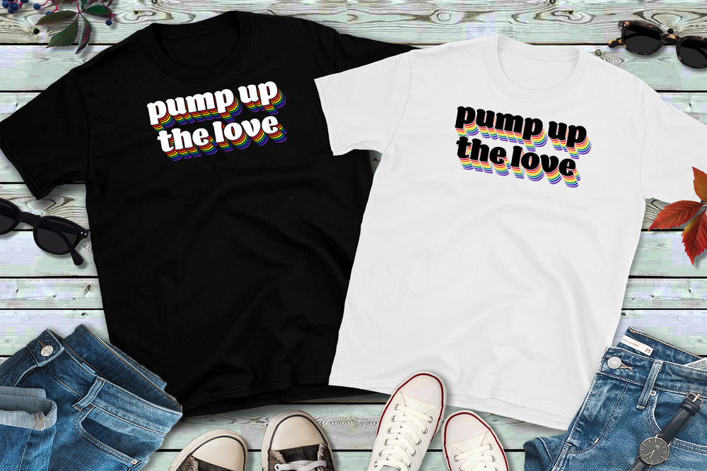 PUMP UP THE LOVE Soft Tee