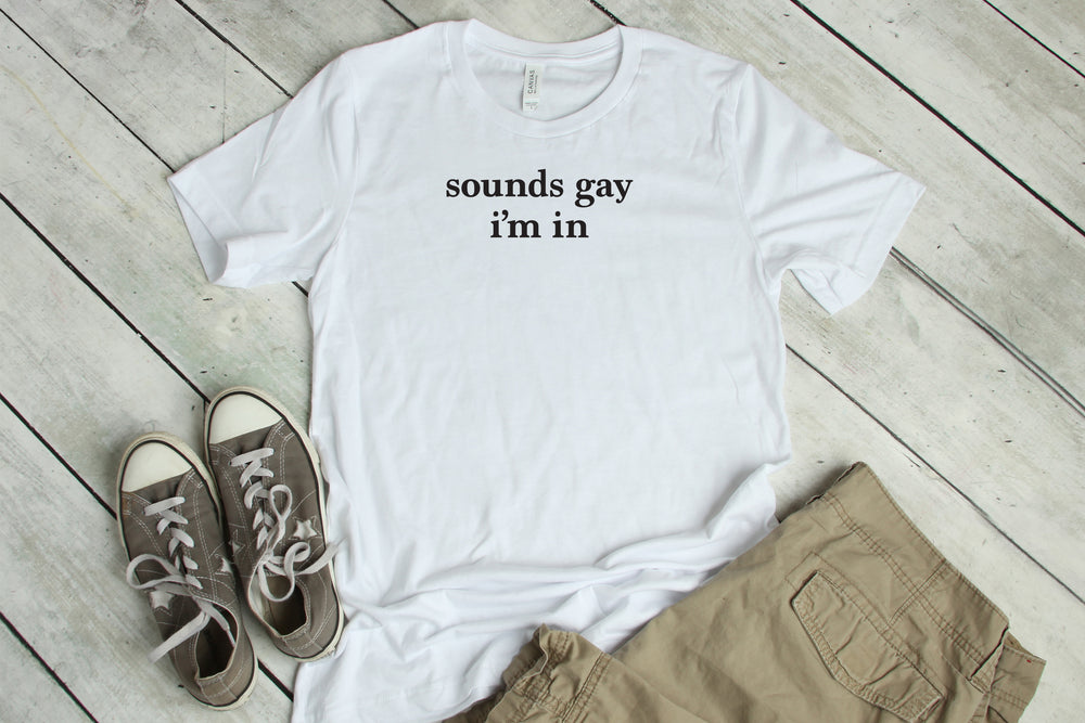 Sounds Gay Soft Tee