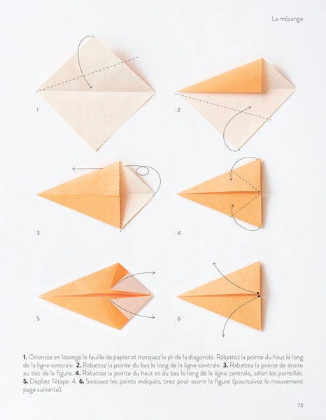DIY Origami : Mésanges colorées !
