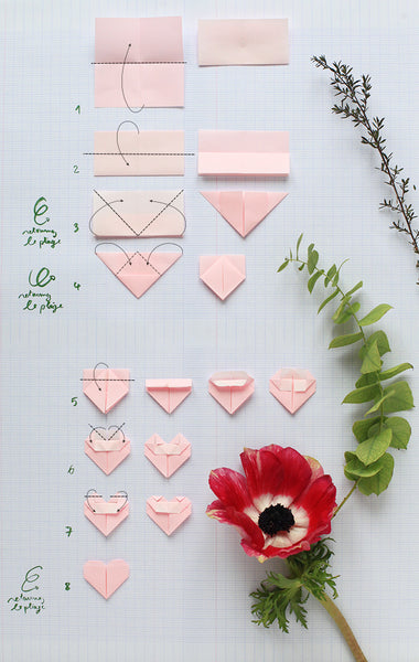 Origami, in the name of love !