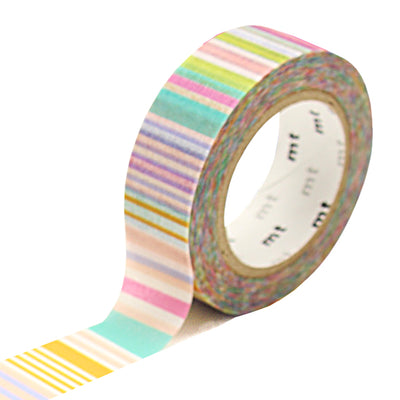 Masking Tape Bandes Multicolores Pastel