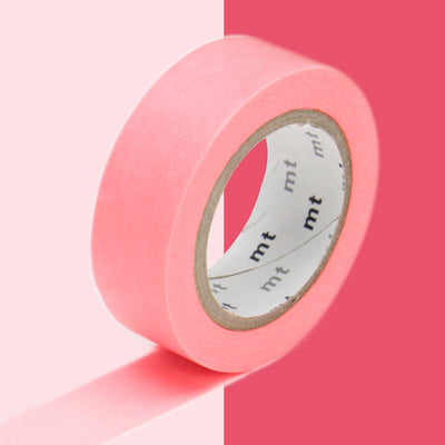 Masking Tape Rouge Fluo