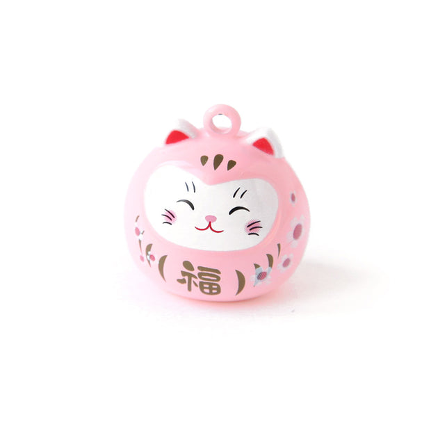 Gros Grelot - Daruma Chat - Rose