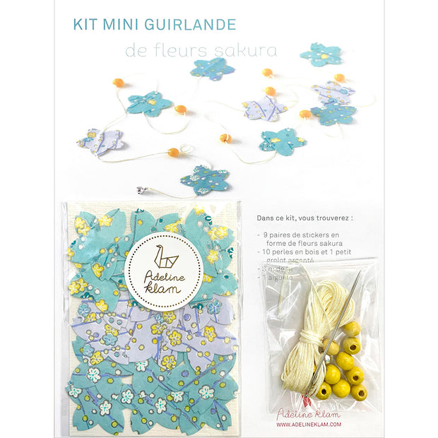 Kit Mini Guirlande Stickers - Sakura - Spring
