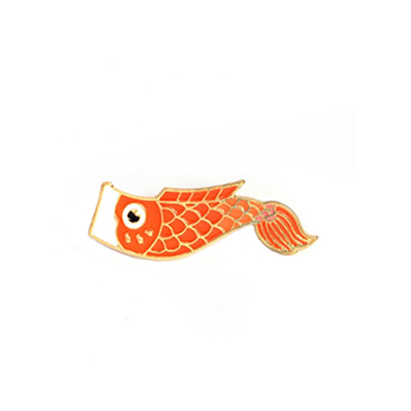 Broche Carpe - Orange
