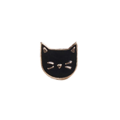Pin's Chat - Noir