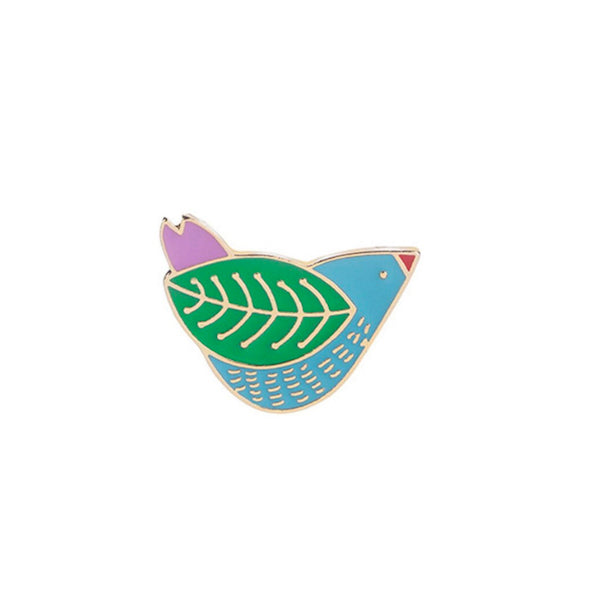 Pin's Oiseau Multicolore