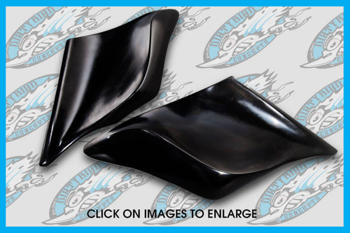 DIRTYBIRD CONCEPTS - SIDE COVERS - Harley – Pop On Side Filler Panels 1996 To 2008