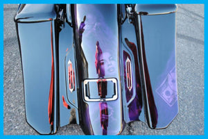 DIRTYBIRD CONCEPTS - LICENSE PLATE BRACKET - Harley – Curved LED License Plate Frame