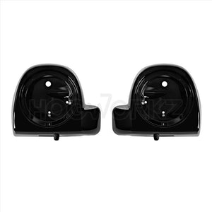 "HOGWORKZ - LOWERS -Harley Lower Vented Fairing 6.5"" Speaker Pod Mounts"