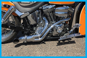 DIRTYBIRD CONCEPTS - EXHAUST- Harley – BMF Performance Exhaust 2000 To 2018 -TOURING