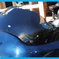 DIRTYBIRD CONCEPTS - WINDSHIELD - Harley – The Blade Transparent Road Glide Windshield Up To 2013