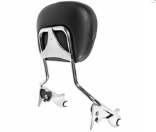 Load image into Gallery viewer, HOGWORKZ - SEATS - Harley Touring '09-'18 Chrome Tall Boy Sissy Bar
