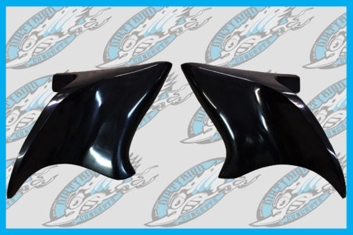 DIRTYBIRD CONCEPTS - Harley Davidson Smooth Flow Pop On Side Filler Panels 2009 To 2018