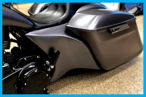 DIRTYBIRD CONCEPTS - Harley Davidson Long Smooth Flow Pop On Side Filler Panels 2009 To 2018