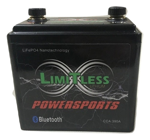 LIMITLESS LITHIUM - POWERSPORTS BATTERIES - Powersports Limitless Lithium 7.5AH BLUTOOTH