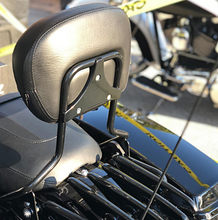 Load image into Gallery viewer, HOGWORKZ - SEATS - Harley Touring '09-'18  Black Tall Boy Sissy Bar