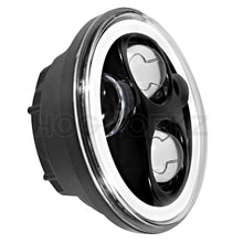 "Load image into Gallery viewer, HOGWORKZ - HEADLIGHTS - HOGWORKZ - HEADLIGHTS - Blackout 5 3/4"" LED HaloMaker (Harley Daymaker Replacement)"
