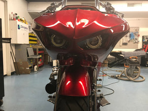 Voodoo Bikeworks - The Vendetta Road Glide Outer Fairing