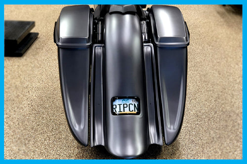 DIRTYBIRD CONCEPTS - REAR END SET - Harley Davidson Saddlebags – The Street Sweeper Ass End 8″ 2014 To 2018