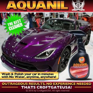 Croftgate USA Waterless Detail products - AQUANIL 32 OZ