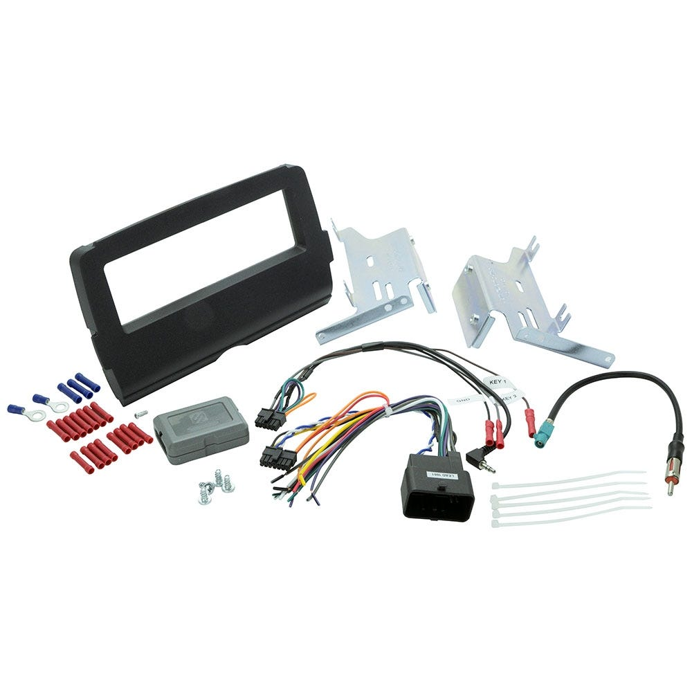 Scosche Single Din Install Kit HD14UBN Harley Davidson 14 and Up