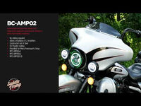 AMP MOUNTING BRACKET - 2015-UP HARLEY DAVIDSON ROAD GLIDE