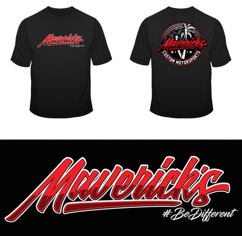 NEW MAVERICK APPAREL-LOGO T-SHIRT