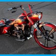 Load image into Gallery viewer, DIRTYBIRD CONCEPTS - Nacelle - Harley Road King Long Raked Accent Nacelle & Cap 1993 To 2020