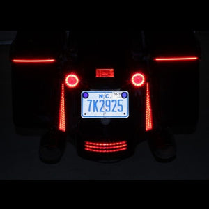 Custom Dynamics - TAILIGHTS - FASCIA LED PANELS FOR 2014-2020 FLHX, FLTRX & FLHRS