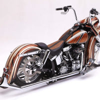 DIRTYBIRD CONCEPTS - Nacelle - Harley Softail Weld On Raked Accent Nacelle & Cap