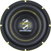 Ground Zero - GZRW 8XSPL - 8″ high quality SPL subwoofer with reinforced paper cone