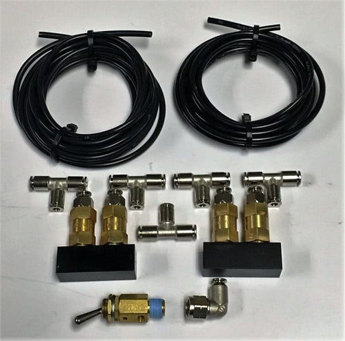Dirty Air - DIRTY AIR F+R SAFETY VALVE KIT - FOR VU4 OR DIRTY AIR 8-VALVE SYSTEM