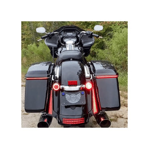 Custom Dynamics - TAILIGHTS - FASCIA LED PANELS FOR 2006-2009 STREET GLIDE (FLHX)