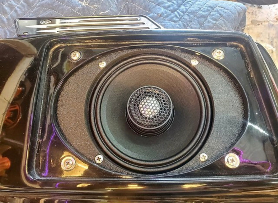 Speaker Adapters & Mounts- Jefe Custom Cycles - 6x9 to 6.5 Adapters