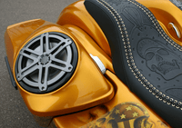 SPEED BY DESIGN - SPEAKER LIDS -2014 AND UP - Loud Daddy Speaker Lids