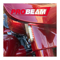 Custom Dynamics - TURN SIGNALS - PROBEAM® DYNAMIC STRIPS™ FRONT TURN SIGNALS FOR 06-20 FLHX AND FLHT H-D™ MOTORCYCLES