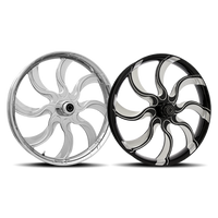SINISTER WHEELS - BAD BOY COLLECTION - REGAL ( FRONT RIM )