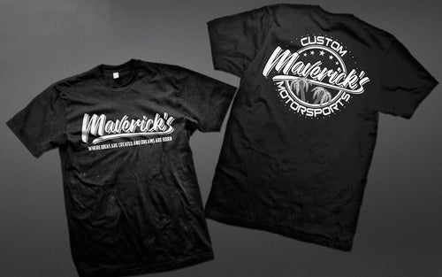 MAVERICK APPAREL-LOGO T-SHIRT