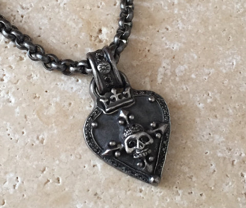 Necklace - Diamond Guitar Pick