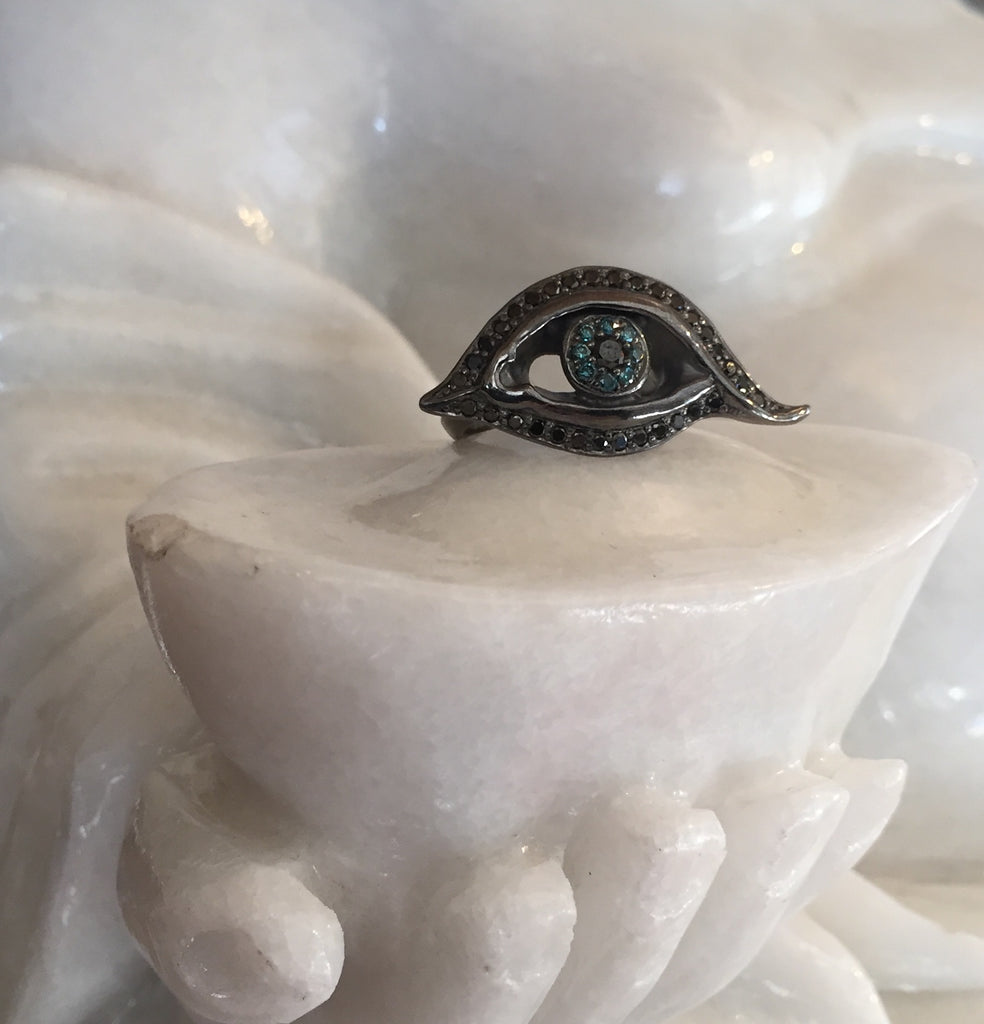 Ring - Diamond Fashion Eye by Roman Paul