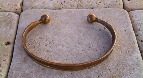 Bracelet - Antiqued Bronze Cuff