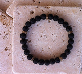 Black Ebony Wood Bracelet by Roman Paul