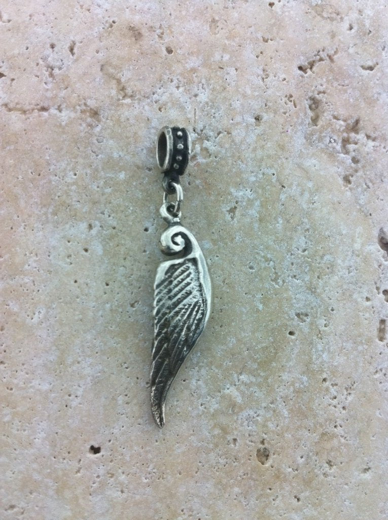 Sterling Silver Wing Pendant